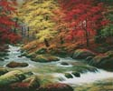 Autumn in Boulder Creek (Large) - Cross Stitch Chart