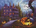 Jack-o-Lantern Lane - Cross Stitch Chart