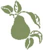 Pear - Cross Stitch Chart