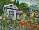 Rose Cottage - Cross Stitch Chart