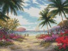 Sea Breeze Path - Cross Stitch Chart